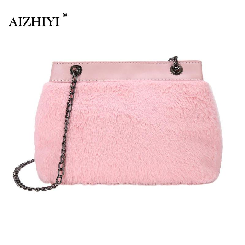 Fashion Women Tote Chain Shoulder Bags Handbag Solid Color Crossbody Bag