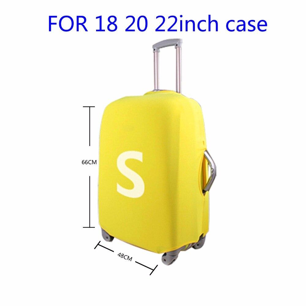 homens da moda viajar caso Color : Solid Suitcase Cover