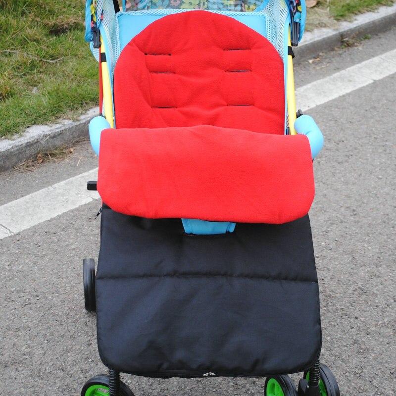 Recém-nascidos de inverno Envelope Saco de Dormir do bebê carrinho de criança quente Crianças Grosso tampa do pé para pé muff Infantil stroller pram cadeira de rodas