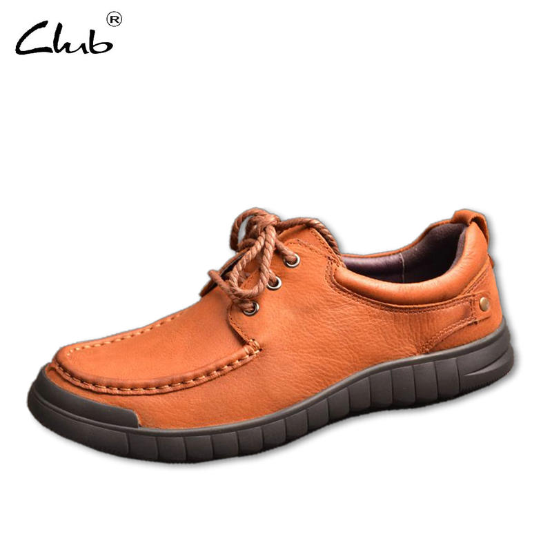 Club Brand Genuine Leather Men Casual Shoes Luxury Flat Fashion Designer Breathable Men Shoes Casual Male Footwear Moccasins Men ege brand handmade genuine leather spring shoes lace up breathable men casual shoes new fashion designer red flat male shoes