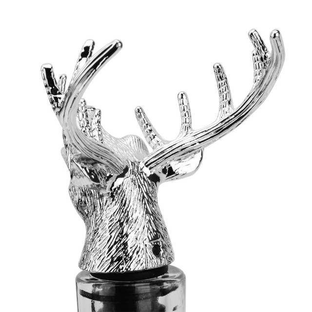 Stainless Steel Deer Stag Head Shaped Wine Pourer