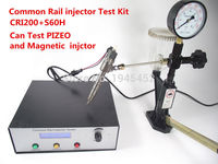 Common Rail injector Tester Kit,CRI200 Support magnetic and piezo injector test+SH60 common rail nozzle injector Tester