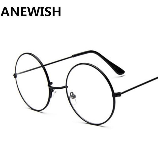 2018 New Retro Silver Color Eyeglasses Frame Fashion Brand Design ...