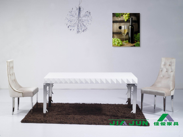 Aliexpress.com : Buy Post modern stainless steel table legs carved ...