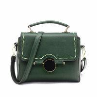 Women Bag Fashion PU Leather Rivet Handbags Female Medium Women Shoulder Bags Famous Brands Women Messenger
