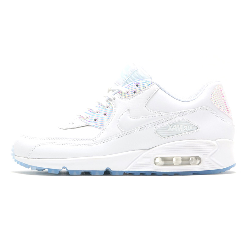 a14fbbd500 US $48.96 49% OFF|Nike Air Max 90 Premium Women's Running Shoes, White,  Abrasion Resistant Non slip Waterproof Breathable 443817 104-in Running  Shoes ...