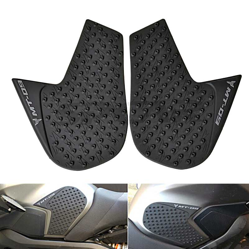 Reasonable 1 Pair Of Anti-slip Gas Tank Traction Pad Knee Grip Sticker For Yamaha Mt-09 Fz-09 2014-2016 Motorbike Accessories