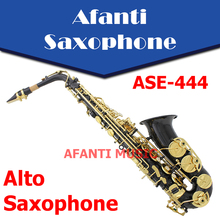 Eb tone Brass body Gold finish Alto Saxophone ASE 444