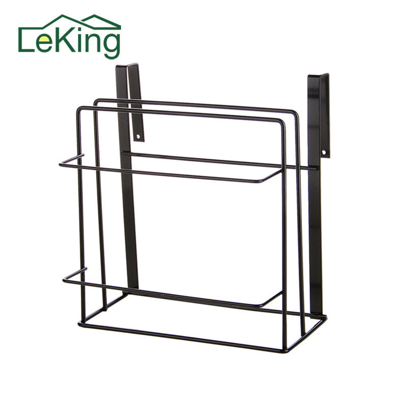 Punching-Free Wall-mounted Cutting Board Rack Cabinets Chopping Board Hanger Shelves Storage Rack Kitchen Draining Supporter alocs ac p03 outdoor foldable cutting chopping board white