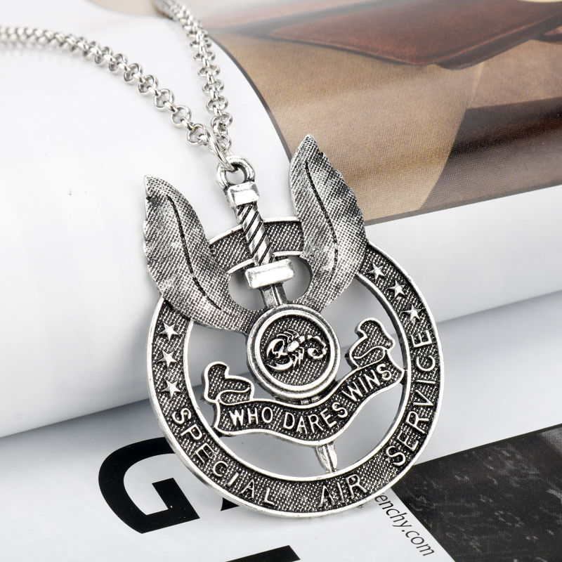 THE ROYAL MILITARY POLICE BADGE DOG TAG PENDANT MILITARY GIFT IN BOX