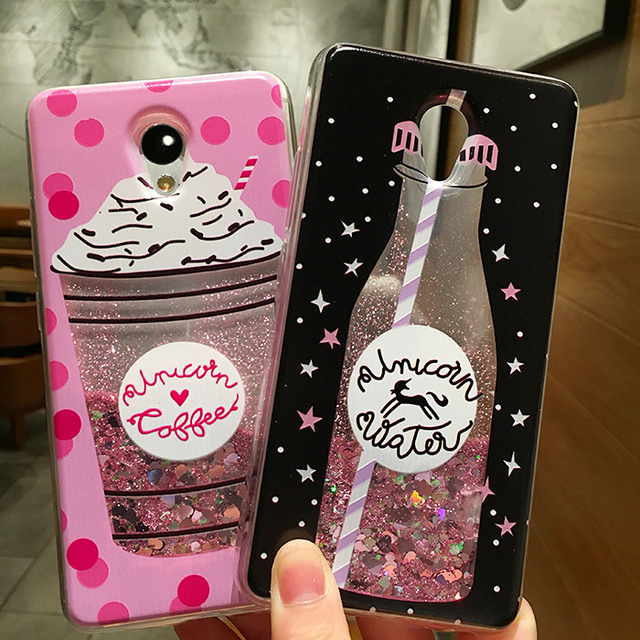 Love Heart Stars Glitter Stars Phone Case For Meizu M3 mini M3S M5 M5S M6 Note Dynamic Liquid Quicksand Soft TPU Back Cover