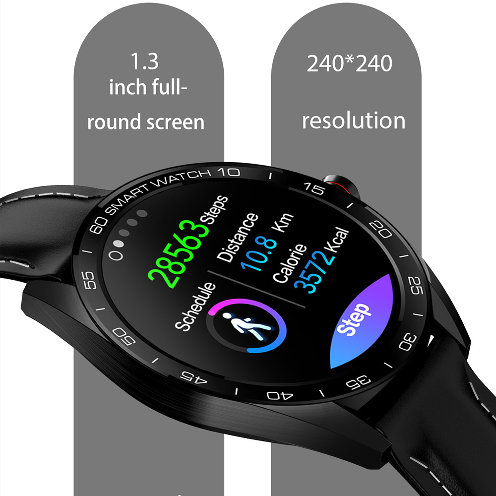 "Image 2 - Virtoba K7 1.3"" Smart Watch Men IP68 Bluetooth Blood Oxygen Heart Rate Monitor Fitness Tracker Sports Smartwatch Android iOS-in Smart Watches from Consumer Electronics"