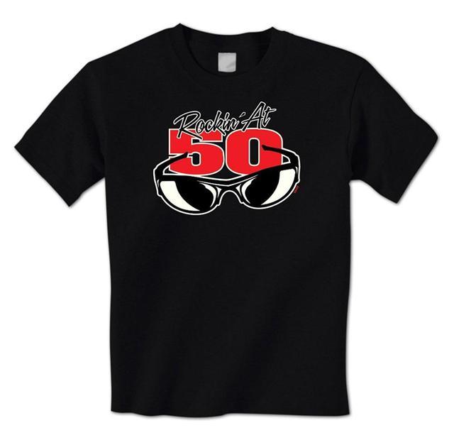Man T Shirt Rockin At 50 Cool Sunglasses Happy 50th Birthday Fifty Mens