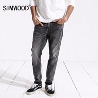 SIMWOOD New Arrive 2018 Autumn Jeans Men Fashion Vintage Slim Fit Casual Brand Denim Trousers Plus Size Free Shipping 180315