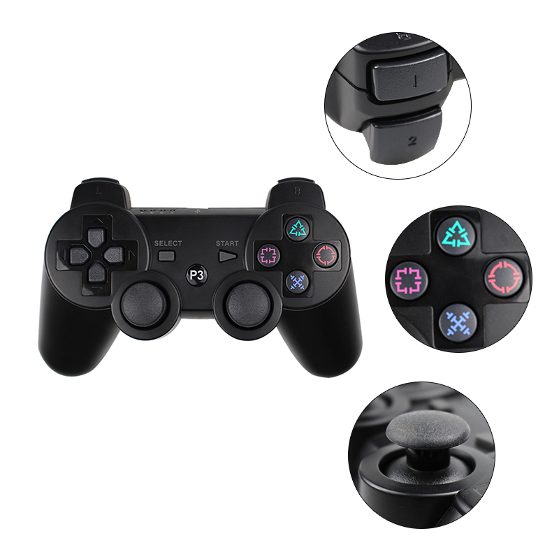 Controller Bluetooth per SONY PS3 Gamepad per Play Station 3 Joystick - Giochi e accessori - Fotografia 2