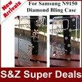 1 шт. Бесплатная доставка телефон случаях 3D DIY крышка Роскошные Ясно Diamond Bling Case For Samsung Galaxy Note Edge N9150 N915