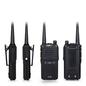 (2pcs) KSUN X-30 handheld walkie talkie portable radio 8W high power UHF Handheld Two Way Ham Radio Communicator HF Transceiver 1