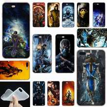 Sheli Mortal Kombat Kitana Frosted Lembut Transparan Penutup Case untuk iPhone X XS XR Max SE 5 5 S 6 6 S 7 7 Plus(China)