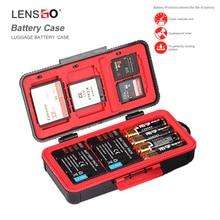 LXH Kamera Için Su Geçirmez Pil Kutusu Canon LP E6 LP E17 Sony NP FZ100 NP FW50 Nikon EN EL15 Pil Kutusu SD CF hafıza kartı muhafazası