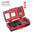 LXH Kamera Wasserdichte Batterie Box Für Canon LP E6 LP E17 Sony NP FZ100 NP FW50 Nikon EN EL15 Batterie Fall SD CF Speicher karte fall-in Batterie-Aufbewahrungsboxen aus Verbraucherelektronik bei