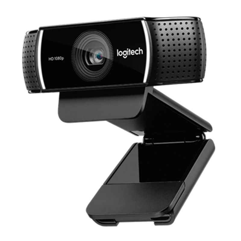 Logitech C922 Pro Autofocus Built-In Mikrofon Full HD Jangkar Webcam