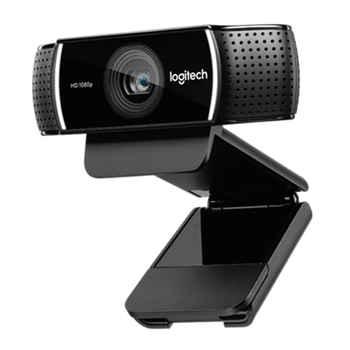 Logitech C922 PRO autofocus built-in microphone full HD anchor webcam