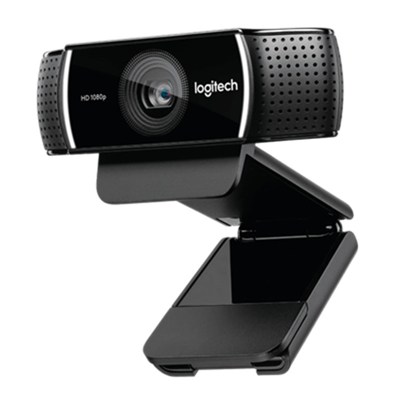 Logitech C922 PRO autofocus intégré microphone full HD anchor webcam