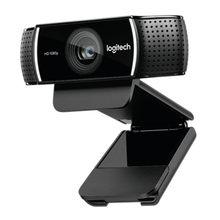 Logitech c922 pro autofoco built in microfone completo hd âncora webcam