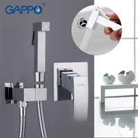 Gappo bidet robinet salle de bain bidet ensemble de douche robinet de douche bidet de toilette douche musulmane en laiton mural laveuse robinet mélangeur G7207