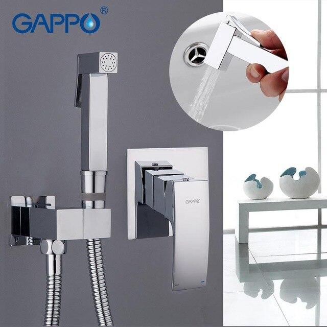 Gappo mélangeur de bidet mural en laiton G7207, robinets de salle de bains, bidet de douche, robinet de douche, bidet de toilette, douche musulmane