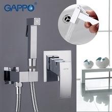 Gappo בידה ברז אמבטיה בידה מקלחת סט ברז מקלחת אסלה בידה מוסלמי מקלחת פליז קיר רכוב מכונת כביסה ברז מיקסר G7207