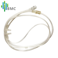 BMC CPAP Diagnosis YH 600 Nasal Airflow Cannula Silica Gel Hose Connect To Nose And PSG For Sleep Snoring Airway Health Care