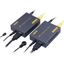LKV373 IP HDMI удлинитель 150 м через UTP/STP CAT5e CAT6 кабель RJ45 порты HDMI удлинитель LAN 1080P HDMI удлинитель IR по TCP IP