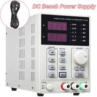 Laboratory DC Bench Power Supply Variable Benchtop 4 Memory Spaces 0 30V 0 5A LCD Display Accurate Bench Power Supply Machine