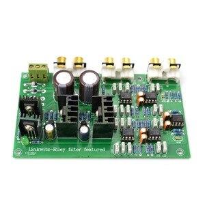 Image 2 - Lusya NE5532 Ayarlayabilirsiniz 2 menzilli 2 yönlü Hoparlör Aktif Frekans Bölücü Crossover Linkwitz Riley Devre DSP A8 014