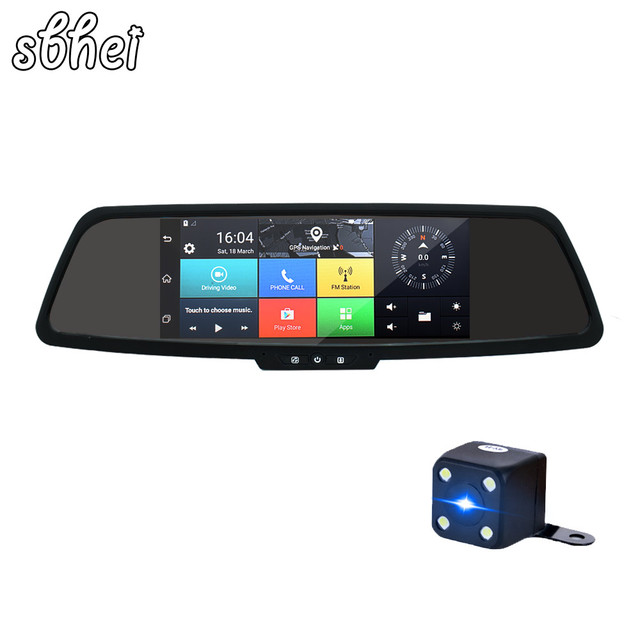 7 inch HD Car GPS Navigation FM Bluetooth AVIN Map Free Upgrade Navitel Europe Sat nav Truck gps navigators automobile