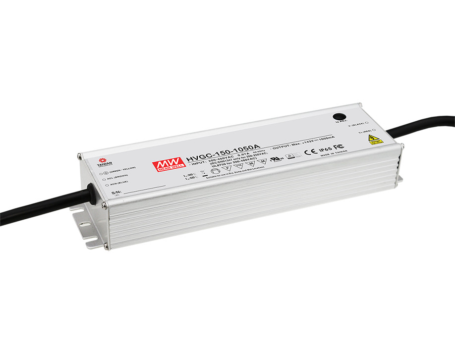 [PowerNex] MEAN WELL original HVGC-150-1400D 12 ~ 107V 1400mA meanwell HVGC-150 149.8W LED Driver Power Supply D Type
