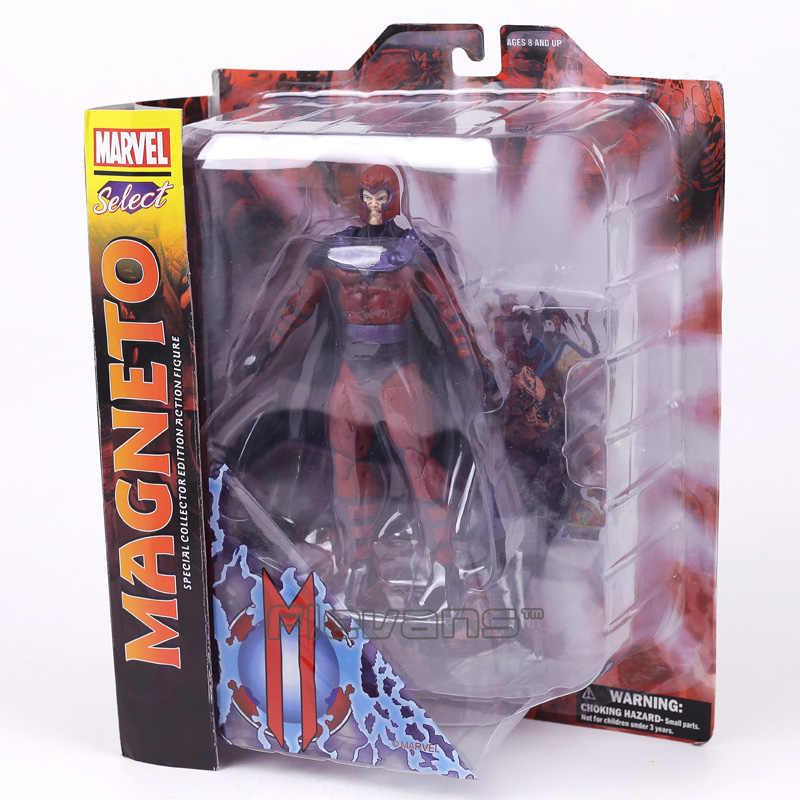 Marvel Select Magneto PVC Action Figure Collectible Modelo Toy 18 7 polegada cm