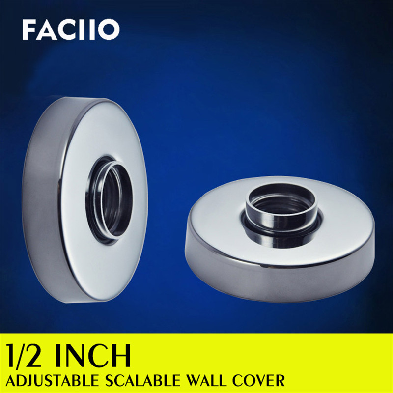 FACIIO 4 Points Water Pipe Decorative Cover Kitchen Accessories Bathroom Faucet Anti Rust Covers Accessories Musluk Aksesuar