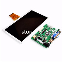 Free Shipping 7 Inch Raspberry Pi 3 TN LCD With The Simple Version Of HDMI VGA