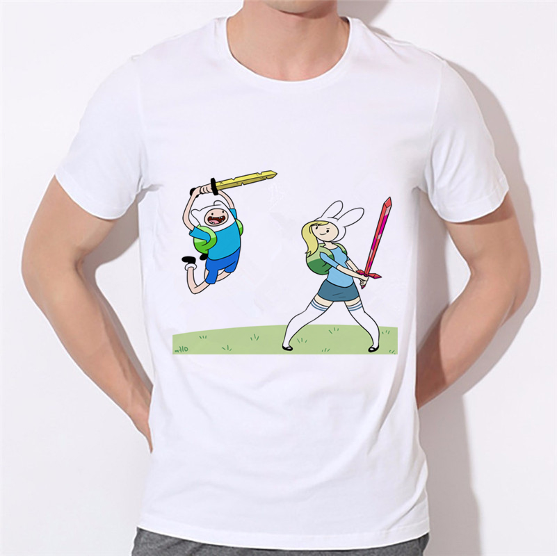Who Wants To Play Video Games T-Shirt Funny Harajuku Sitcoms Adventure Time Shirt Men Jack Basic T Shirt BMO Men Clothing W-335#