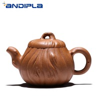 270ml Authentic Yixing Teapot Shu Ying Pot Chinese Health Purple Clay Teapot Kung Fu Tea Set Teaware Kettle Vintage Home Decor
