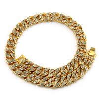 Big Chunky Necklace Gift Necklaces For Men Miami Cuban Link Gold Chain Hip Hop Jewelry Long Chains Thick Stainless Steel