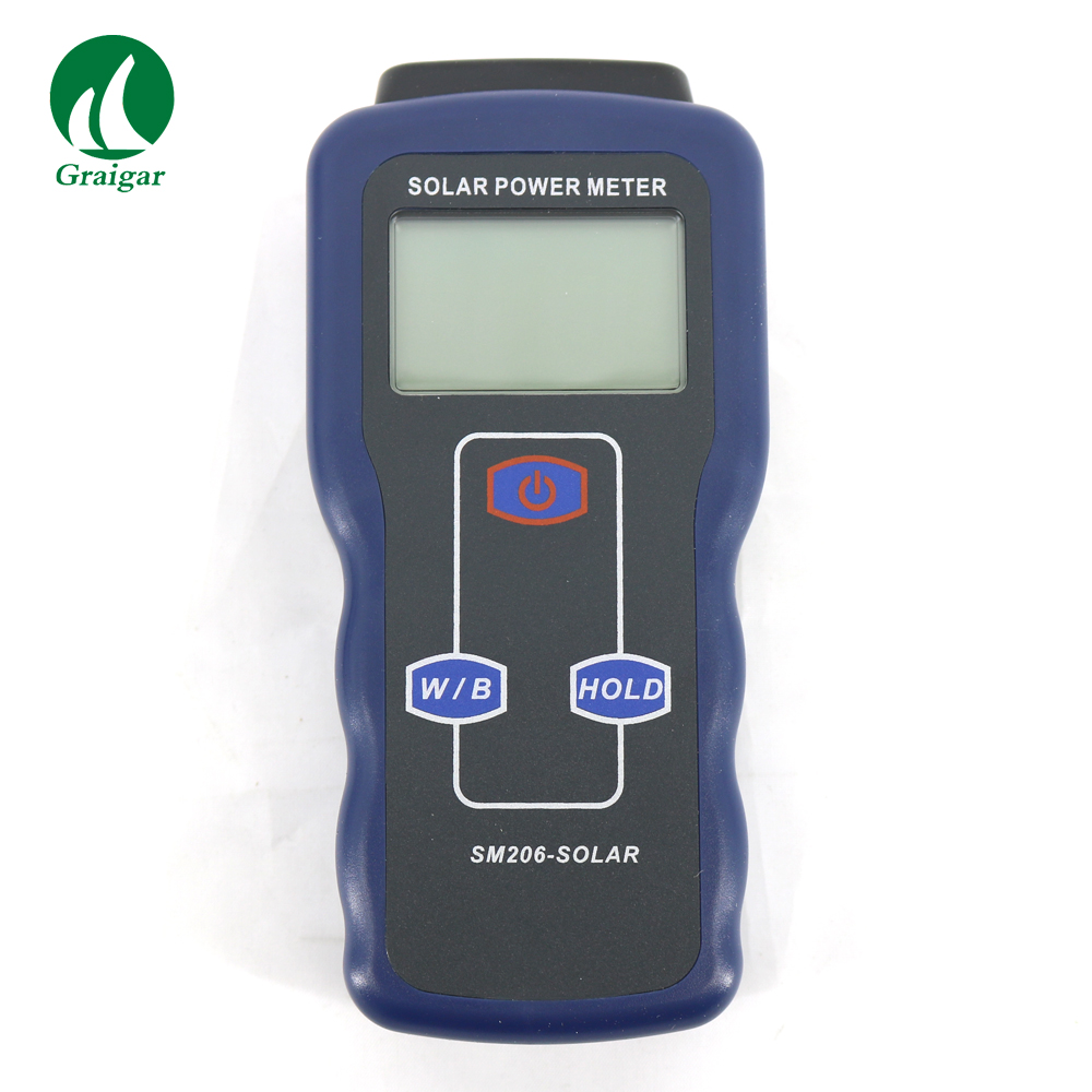 SM206 Light Meter Precision Instrument for Solar Radiation Measurement Solar Power Tester Free Shipping цена
