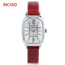 7fd77c276ac XICOO Stylish Women Watch Genuine Leather Irregular Quartz Watch Ladies  Beauty Wristwatch Female Sports Casual Relogio Feminino