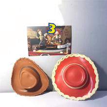 Toy Story woody cowboy hat Jessie Hat Dolls Replacement Accs Parts 5 Original model toy