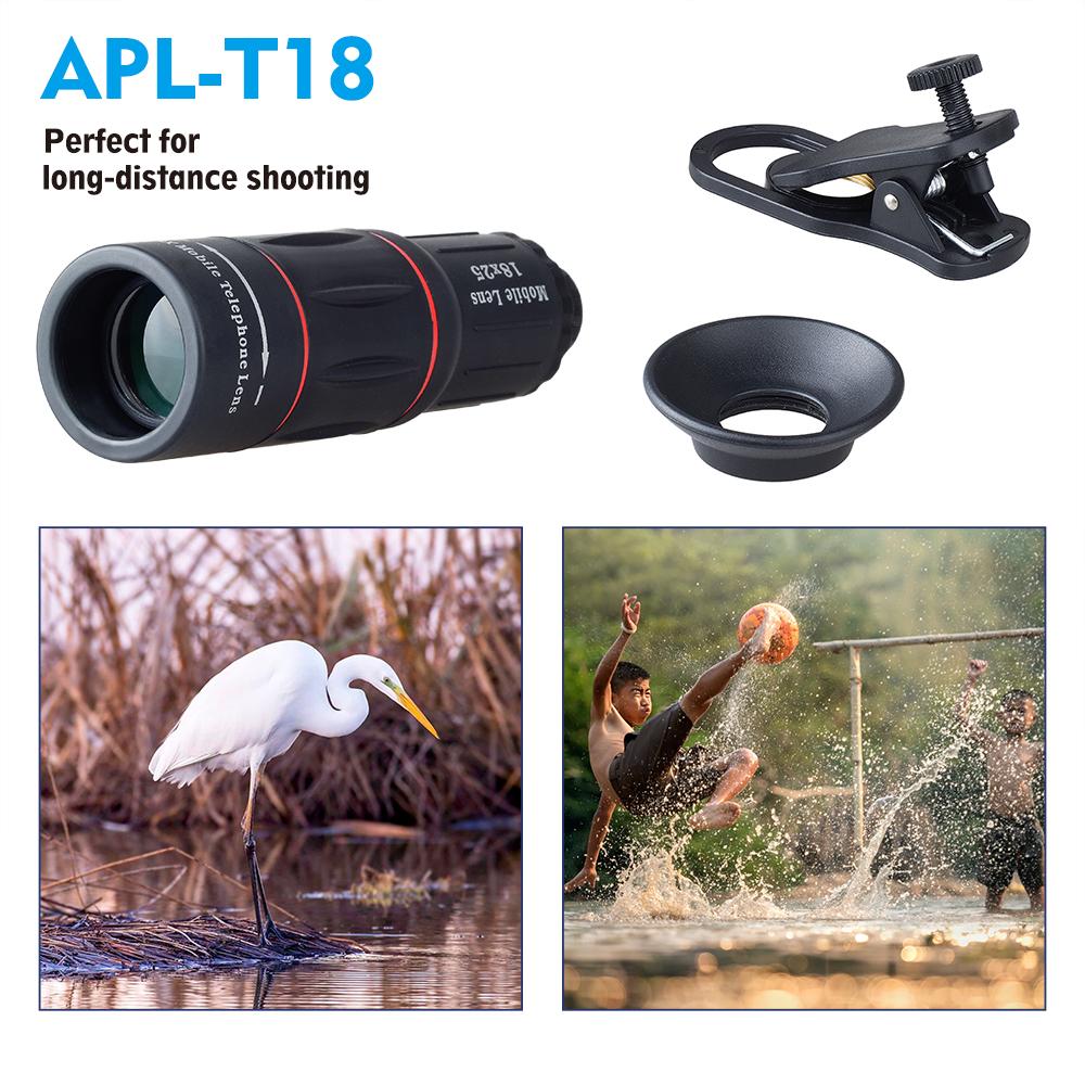 APEXEL 18X Zoom lens