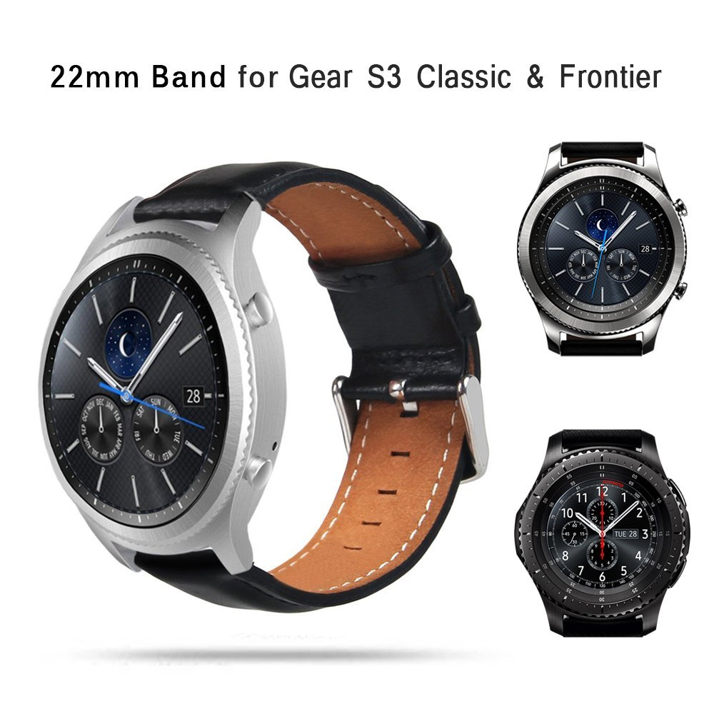 TOROTOP 17 NEW Wristband FOR SAMSUNG GEAR S3 CLASSIC WATCH BAND Smart Accessory Leather Strap Gear S3 Classic frontier BANDS 1