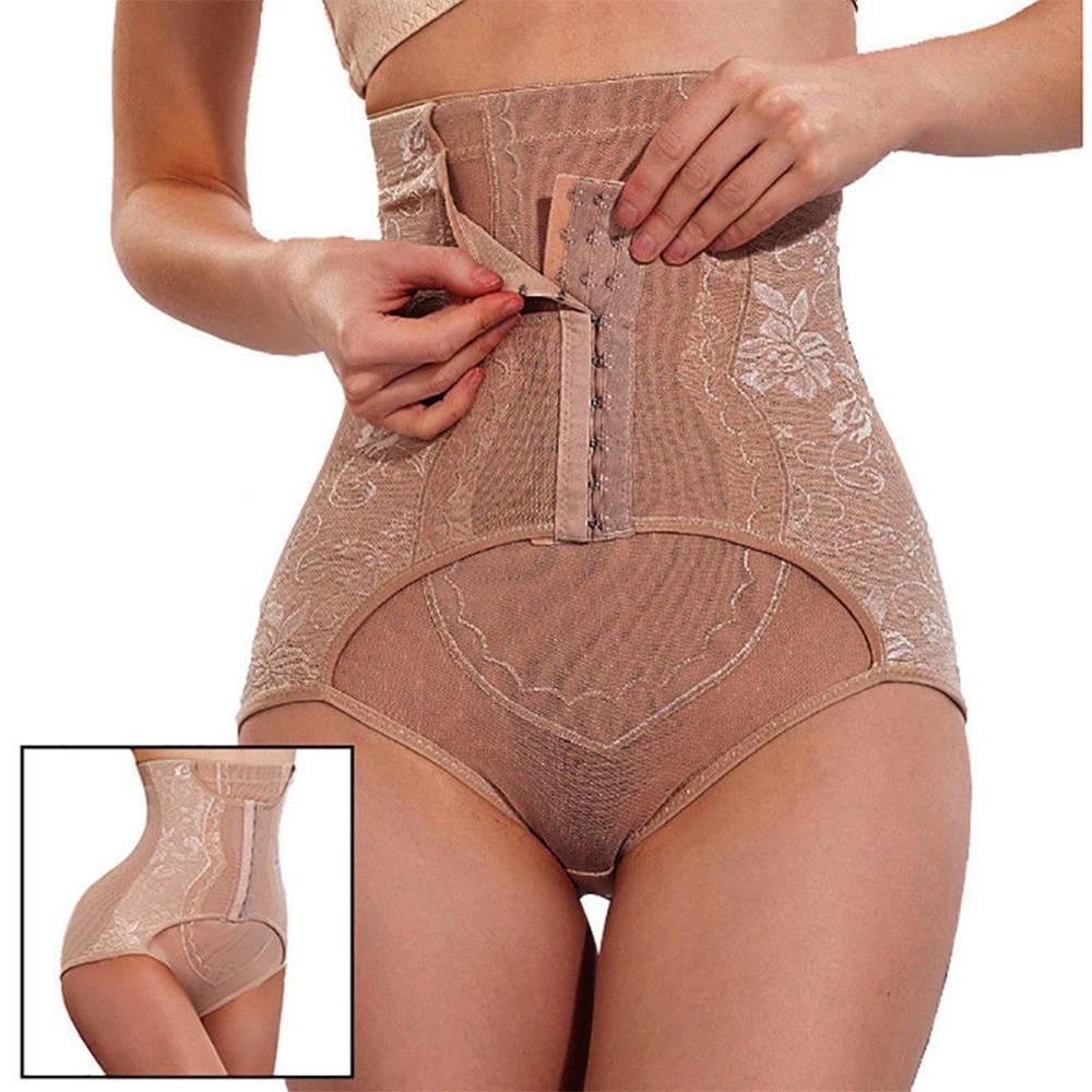 Body Shaper Waist Trainer Control Panties Strap Butt Liter Corset Slimming Belt Bodysuit Women Corrective Underwear Row Hooks