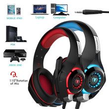 3.5mm Gaming headphone Earphone Gaming Headset Headphone Xbox One Headset with microphone for pc ps4 playstation 4 laptop phone(China)